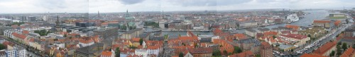 Panorama de Copenhague
