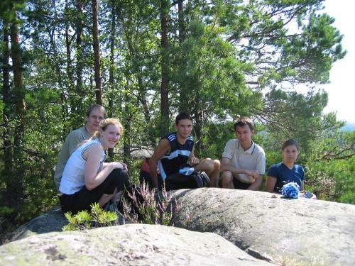 Troupe d'amis germano-francophones à Söderköping