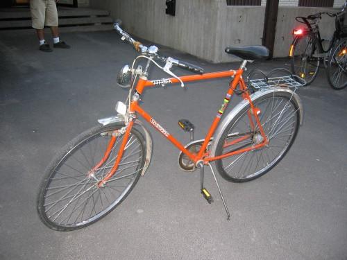 Vélo de haute compétition