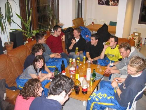 Pre-party ESN chez moi avant Kravalentine