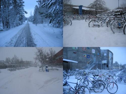 Suède enneigée