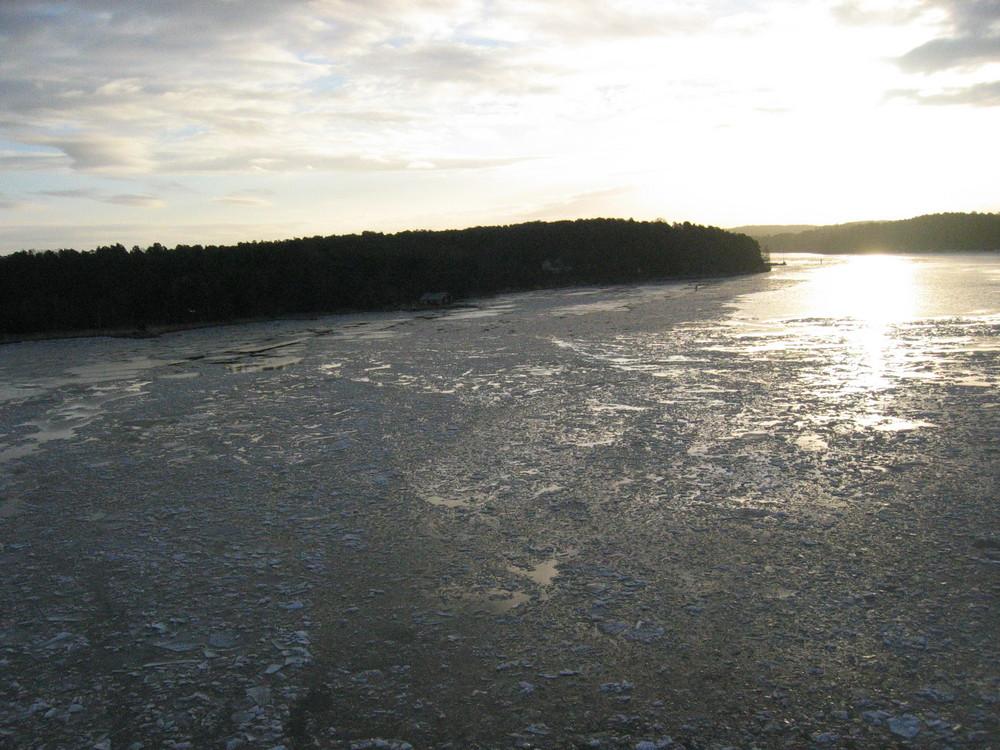 Mer gelée en Finlande