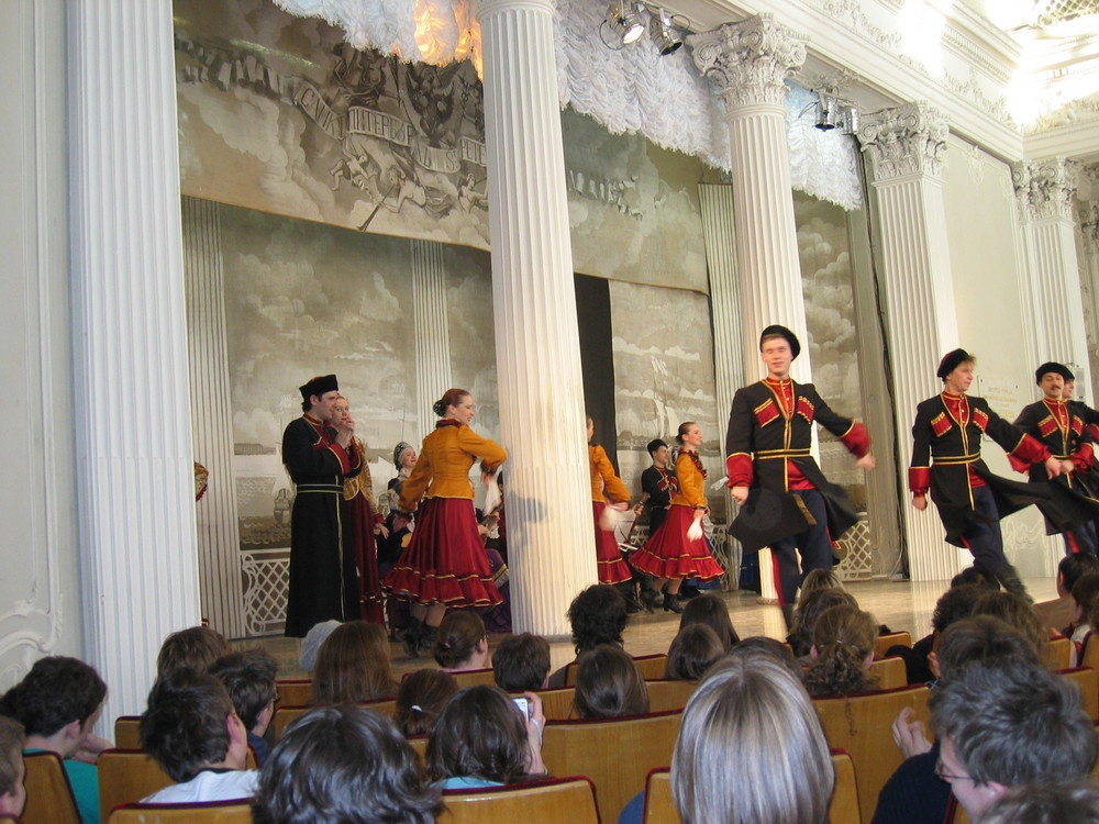 Danse russe traditionnelle