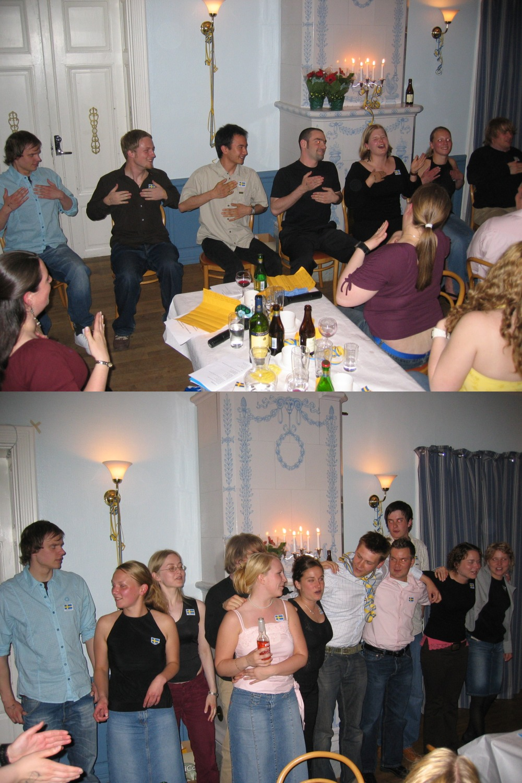 ESN Farewell Diner gyckel