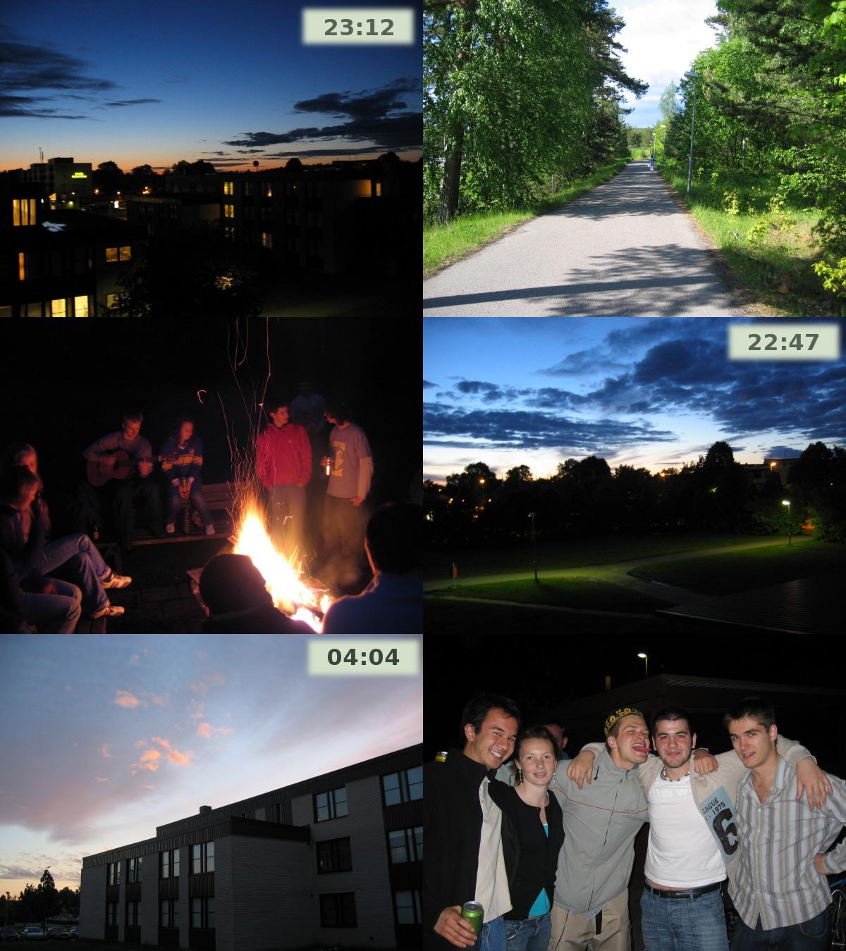 Suède estivale: verte, lumineuse et chaleureuse