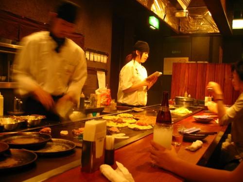 Cuisiniers du restaurant