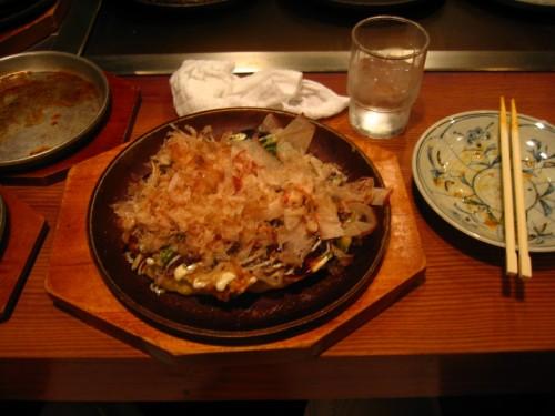 Okonomiyaki deluxe