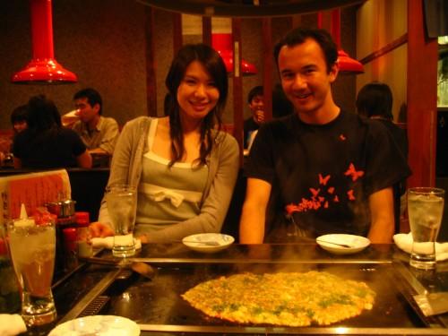 Monjayakis with Yumeko
