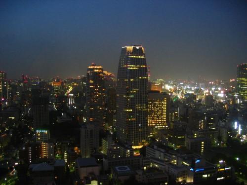 Nightfall from the Tokyo Tower