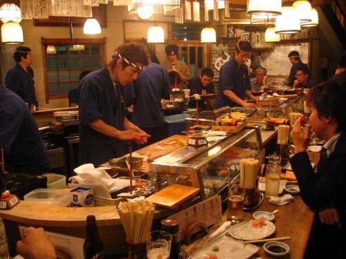 Restaurant à sushi