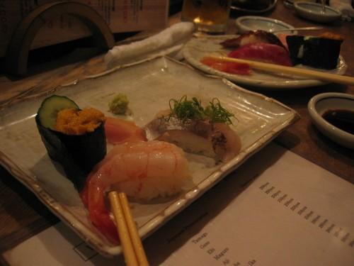 Sushi de crevette
