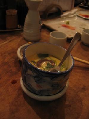 Soupe-flan pour le dessert