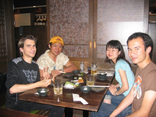 Japanese food with friends