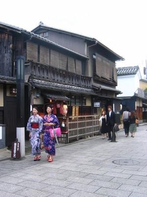 Vieilles rues à Gion