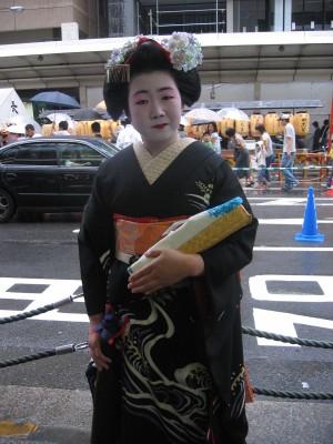 Geisha sur Shijo