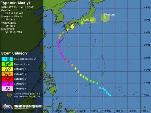 Man-yi, sympathique typhon