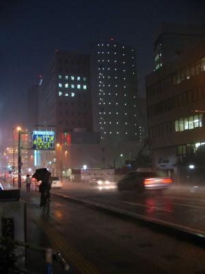 Déluge à Fukuoka