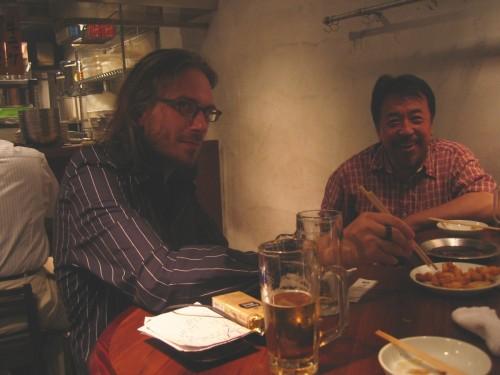 Patrick Gyger et Nakano-san