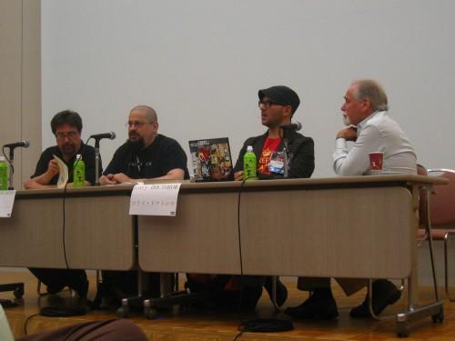 Hayden, Stross, Doctorow, Silverberg