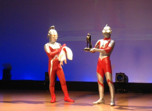 Ultraman reveal the Hugo
